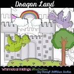 Dragon Land Clipart Collection