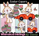 Easter Capers Clipart Collection