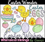 Easter Wonder Clipart Collection