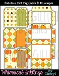 Fabulous Fall Tag Cards and Envelopes