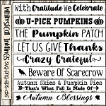 Fall Sign SVG Bundle