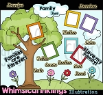 Family Tree Clipart Collection