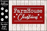 Farmhouse Christmas Sign SVG