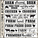 Farm Signs SVG Bundle
