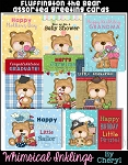 Fluffington the Bear Assorted Cards