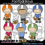 Football Boys Clipart Clipart Collection