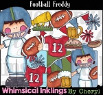 Football Freddy Clipart Collection