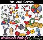 Fun and Games Clipart Collection