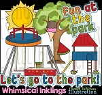 Fun At The Park Clipart Collection