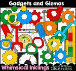 Gadgets and Gizmos Clipart Collection
