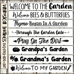 Garden Sign SVG Bundle