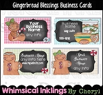 Gingerbread Blessings Business Cards