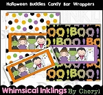 Halloween Buddies Candy Bar Wrappers
