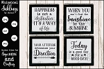 Happiness SVG Sign Set