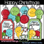 Happy Christmas Clipart Collection