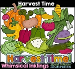 Harvest Time Clipart Collection
