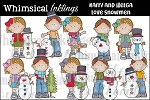 Helga and Harry Love Snowmen RESELLERS LIMITED SET