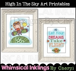 High In The Sky Art Prints