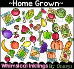 Home Grown Clipart Collection