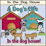 In The Dog House Clipart Collection