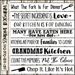 Kitchen Sign SVG Bundle