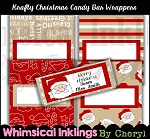 Krafty Christmas Candy Bar Wrappers