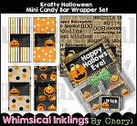 Krafty Halloween Mini Candy Bar Wrappers