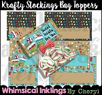 Krafty Stocking Bag Toppers