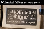 Laundry Room Help Wanted SVG