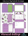 Lilac Love Tag Cards and Envelopes