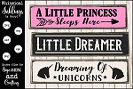 Little Dreamer SVG Set