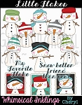 Little Flakes Clipart Collection