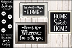Love Builds A happy Home SVG set