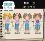 Marcy Lou Designer Set RESELLERSLIMITED SET