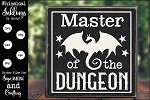Master Of The Dungeon SVG