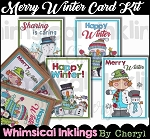 Merry Winter Card Kit