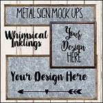 Metal Sign Mock Up Collection