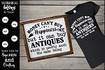 Money Can Buy Antiques SVG