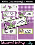 Mothers Day Lilacs Candy Bar Wrappers
