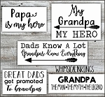 My Grandpa My Hero SVG Files