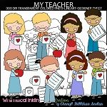 My Favorite Teacher Clipart Collection