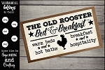 The Old Rooster Bed and Breakfast SVG