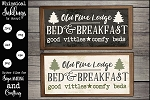 Old Pine Lodge SVG Set