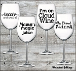 On Cloud Wine SVG Files