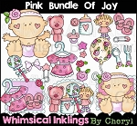 Pink Bundle Of Joy Clipart Collection