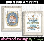 Rub A Dub Dub Art Prints
