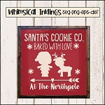 Santas Cookie Co. SVG Cutter File