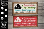 Santas Elves Toy Company SVG