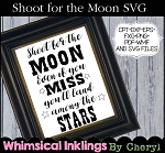 Shoot for the Moon SVG