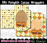 Silly Pumpkins Cocoa/Cider Wrappers